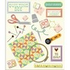 Stickers Tridimensionales de Quilting K&Company