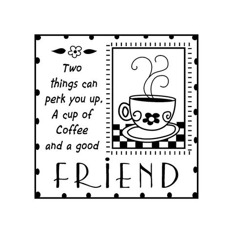 Sello Good Friends Mini Inkadinkado