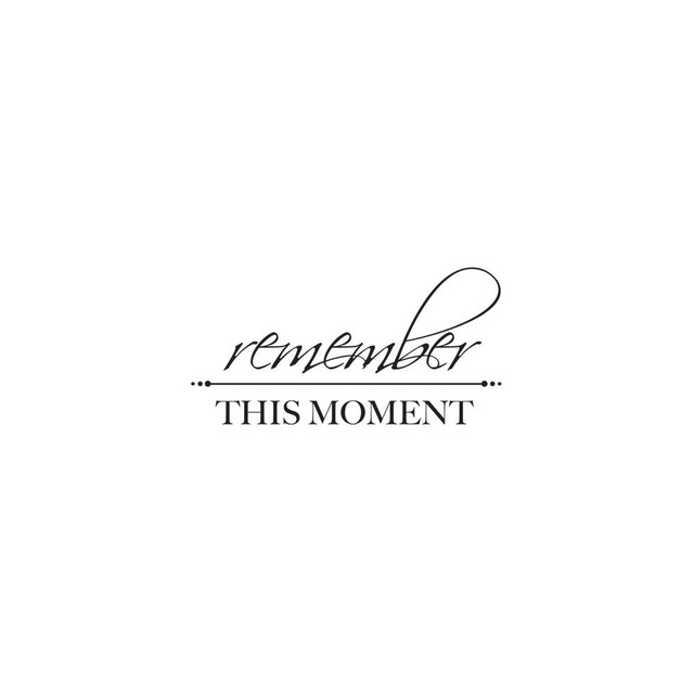 Sellos de Frase Remember this Moment Words Clear Stamp Kaisercraft - comprar online