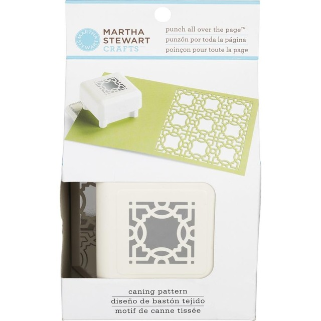 Punch Cuadrado All Over The Page Pattern® Caning Martha Stewart - comprar online
