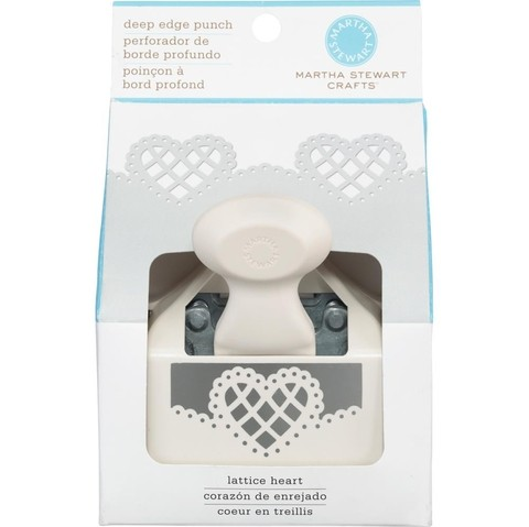 Punch Troqueladora de Bordes Lattice Heart Martha Stewart - comprar online