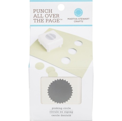 Punch Cuadrado All Over The Page® Pinking Circle Martha Stewart   - comprar online