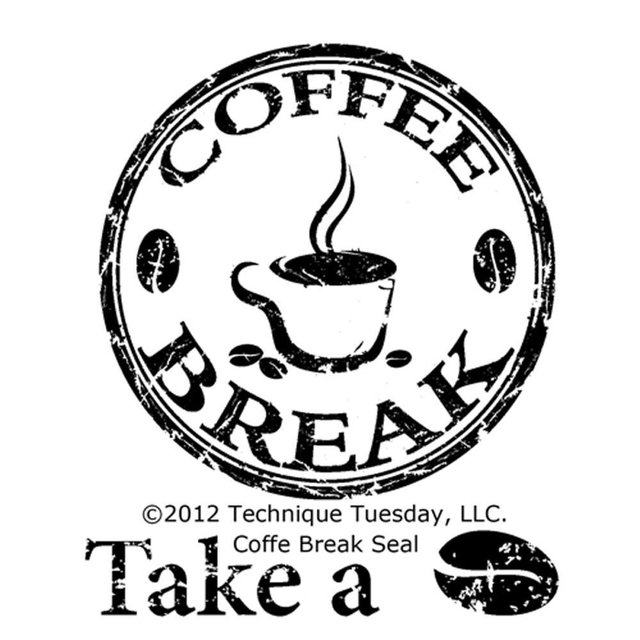Sello Coffee Break Seal Technique Tuesday Clear Tuesday - comprar online