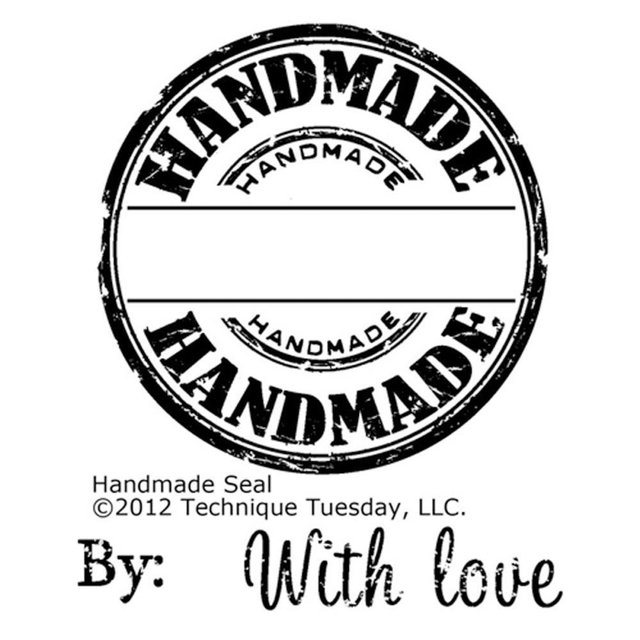 Sello Handmade Seal Technique Tuesday Clear Tuesday - comprar online