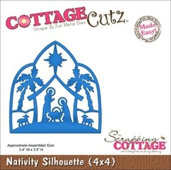 Troqueladora Pesebre Nativity Cottage Cutz