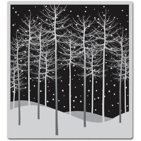 Sello Winter Trees Cling Stamps Hero Arts   - comprar online