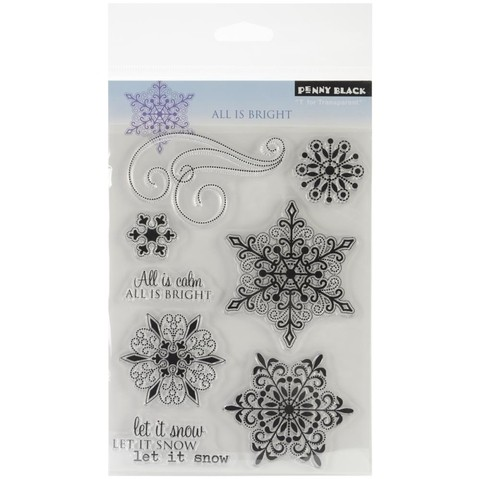 Sellos All is Bright Clear Stamp Penny Black - comprar online