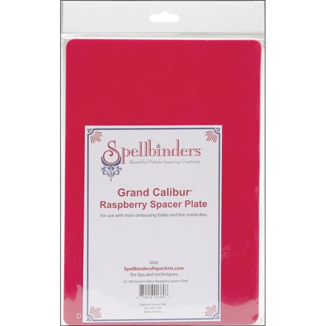 Placa Spacer Plate Para Spellbinders Grand Calibur (Repuesto) - comprar online