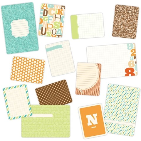 MINI KIT DE 100 TARJETAS PARA PROJECT LIFE BECKY HIGGINS BABY FOR HIM - comprar online