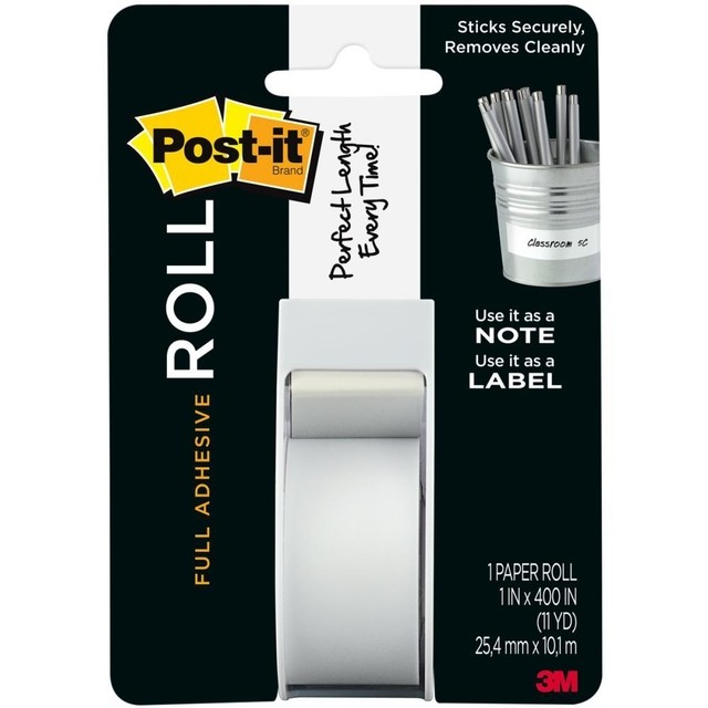 Cinta Adhesiva Post It Roll Blanca - comprar online
