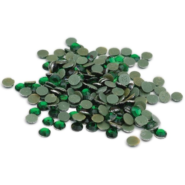 Strass termoadhesivos Silhouette 5 mm x 200 unidades Verde - comprar online