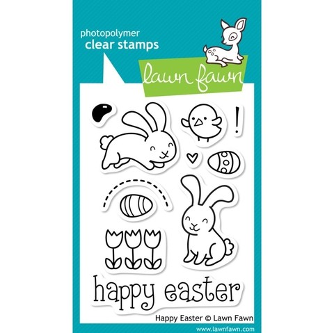 Sellos Happy Easter Clear Stamp Lawn Fawn
