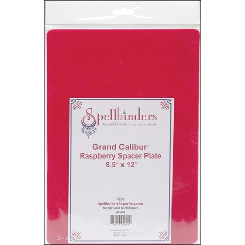Placas Spacer Plate Para Spellbinders Grand Calibur (Repuesto) en internet