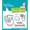 Sello Make Lemonade Clear Stamp Lawn Fawn - comprar online