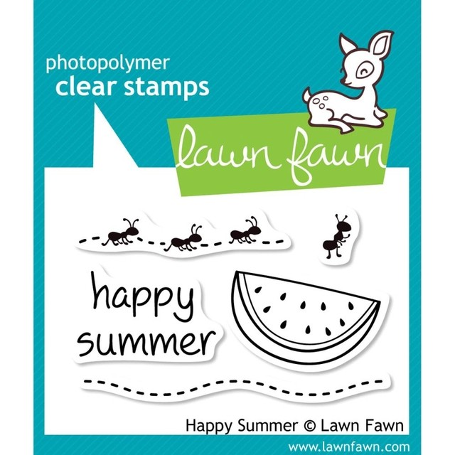 Sellos Happy Summer Clear Stamp Lawn Fawn