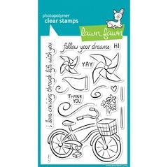 Sellos Cruising Through Life Clear Stamp Lawn Fawn