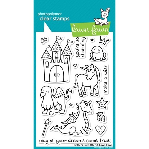 Sellos Critters Ever After Clear Stamp Lawn Fawn