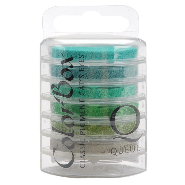 Set de Tintas Cat's Eye ColorBox Fluid Chalk Rain Forest - comprar online