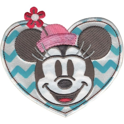 PARCHE BORDADO PARA LA ROPA DE MINNIE IN HEART DISNEY®