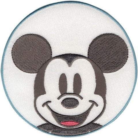 PARCHE BORDADO PARA LA ROPA DE MICKEY IN CIRCLE DISNEY®