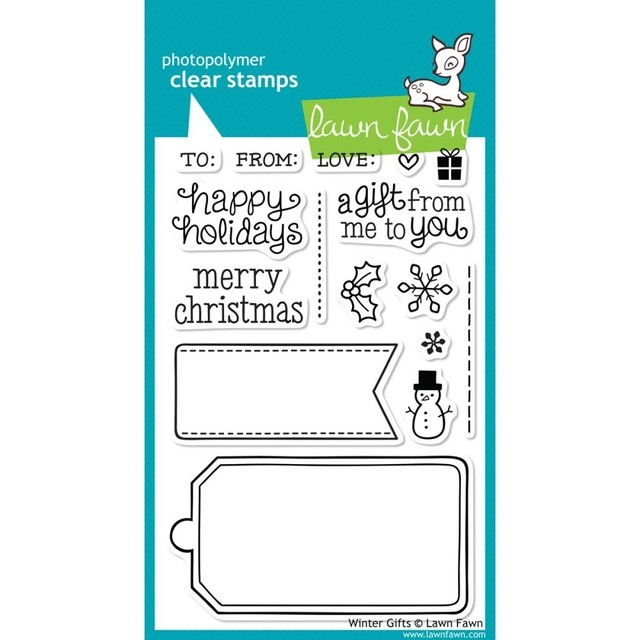 Sellos Winter Gifts Clear Stamp Lawn Fawn