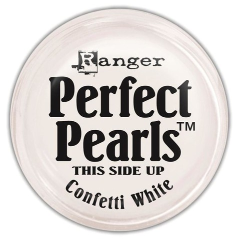 PERFECT PEARLS PIGMENT POWDER COLOR CONFETTI WHITE - comprar online