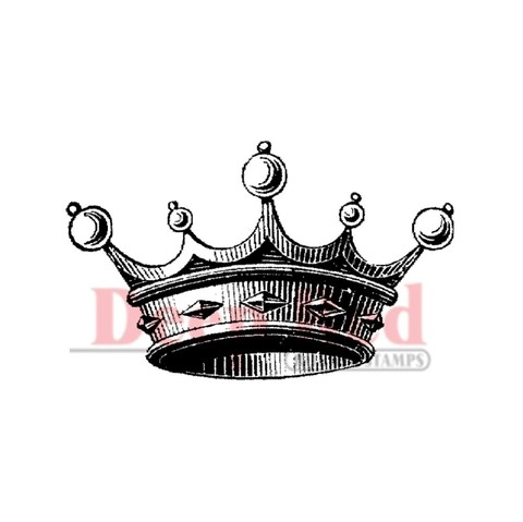 Sello corona Crown For Royalty Deep Red
