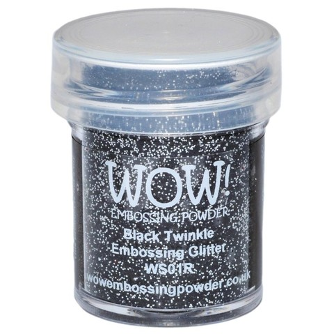Polvo para embossing Black Twinkle Wow!