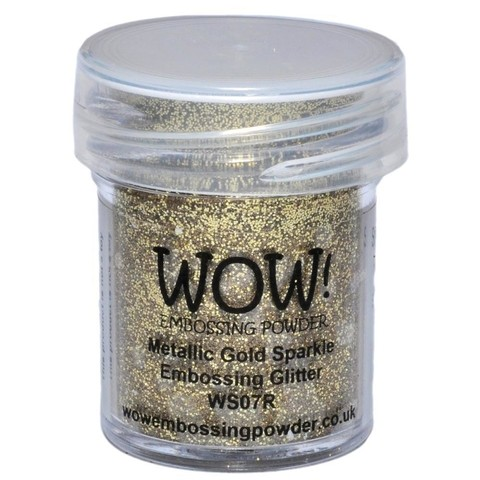 Polvo para embossing Metallic Gold Sparkle Wow! - comprar online
