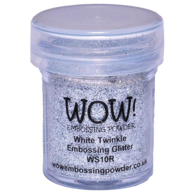 Polvo para embossing White Twinkle Wow!