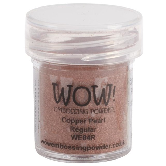 Polvo para embossing cobre Copper Pearl Wow! - comprar online
