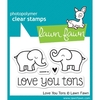 Kit de Sellos y troqueles Love You Tons Lawn Fawn 7.5 cm x 5 cm