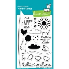 Sellos Hello Sunshine Clear Stamp Lawn Fawn