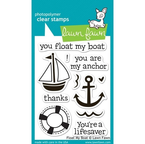 Sellos Float My Boat Clear Stamp Lawn Fawn