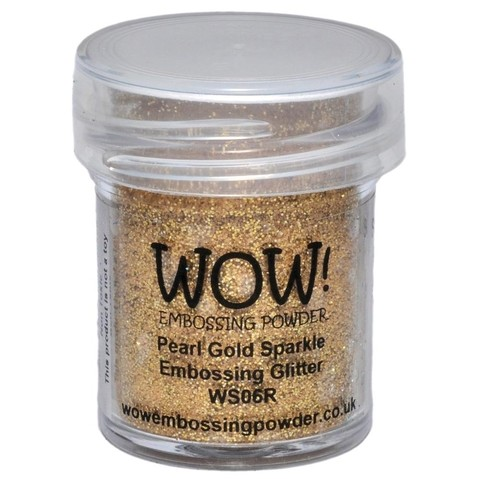 Polvo para embossing Pearl Gold Sparkle Wow!