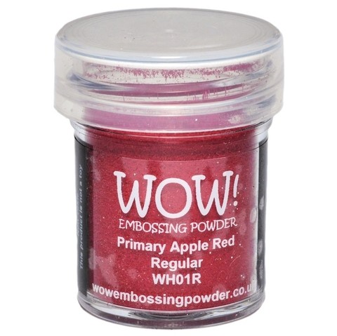 Polvo para embossing Primary Apple Red Regular Wow!