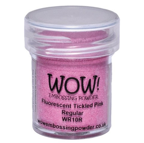 Polvo para embossing Fluorescent Tickled Pink Wow!