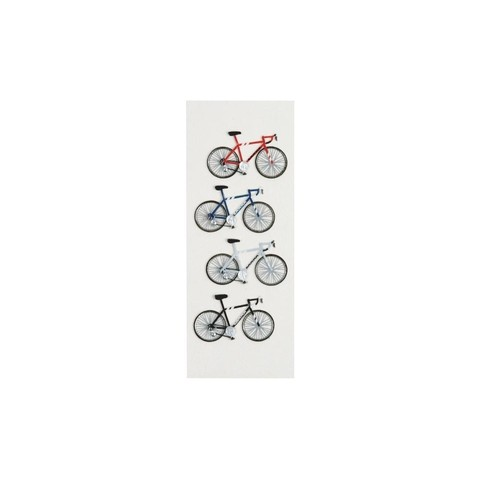 Stickers tridimensionales de Bicicletas Little B