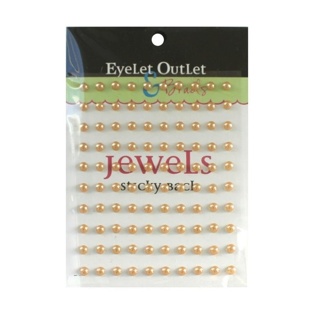 Perlas Square Pearl Brown Autoadhesivas Eyelet Outlet 100 unidades - comprar online