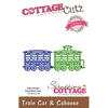 Troqueladora Train Car & Caboose Cottage Cutz - comprar online