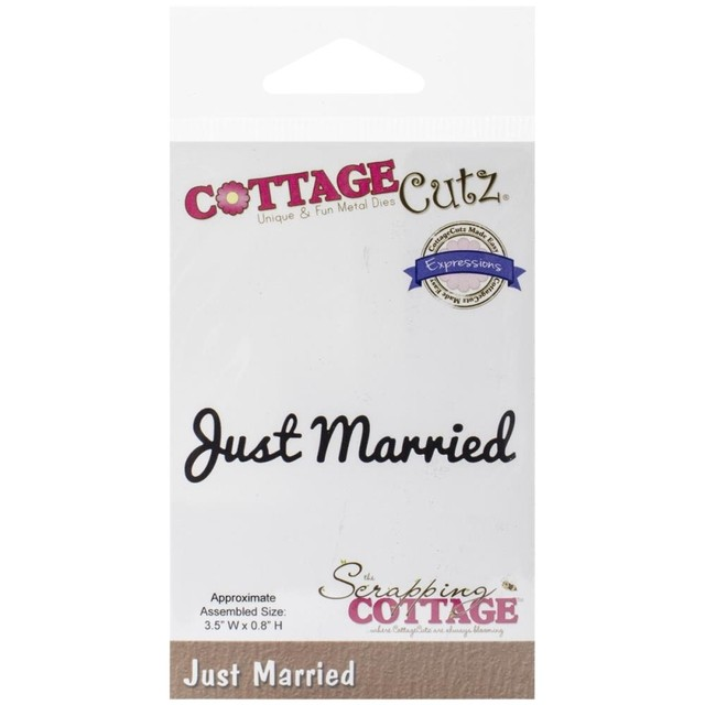 Troqueladora Just married Cottage Cutz