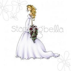 Sellos Stamping Bella Clear Stamp Uptown Girl Brigitte The Bride - comprar online