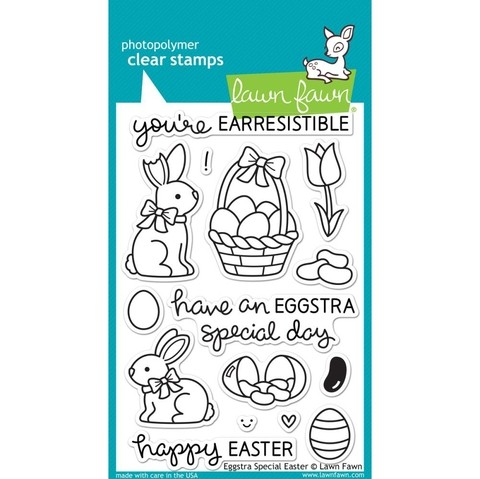 Sellos Eggstra Special Easter Clear Stamp Lawn Fawn - comprar online