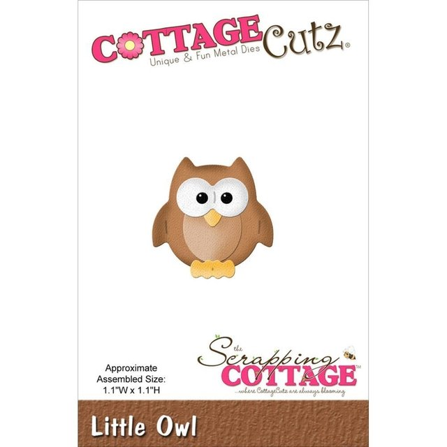 Troqueladora Little Owl Buhito Cottage Cutz