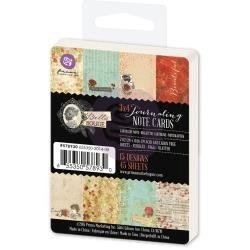 KIT DE 45 TARJETAS PARA PROJECT LIFE Bella Rouge Journaling Cards Prima Marketing - comprar online