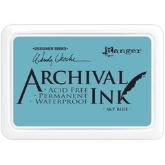 Almohadilla de Tinta Ranger Archival Ink Color Sky Blue