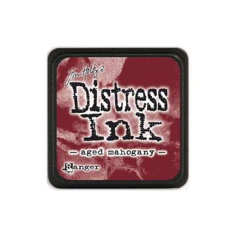Almohadilla de Tinta Distress Ink Mini Color Aged Mahogany - comprar online