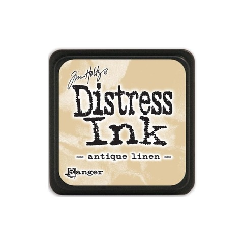 Almohadilla de Tinta Distress Ink Mini Color Antique Linen