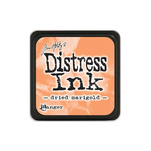 Almohadilla de Tinta Distress Ink Mini Color Dried Marigold