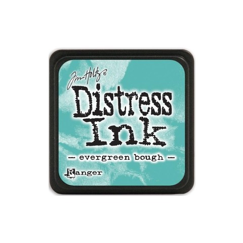 Almohadilla de Tinta Distress Ink Mini Color Evergreen Bough